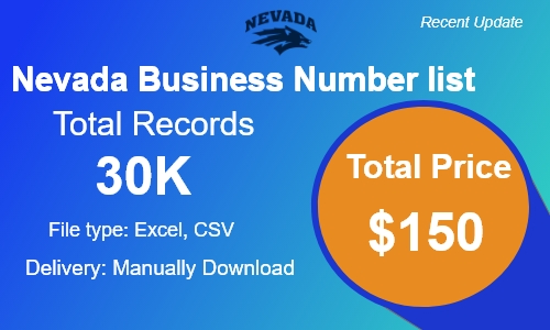Nevada Small Business Phone list in usa