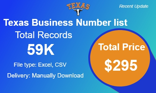 Texas Phone Number List in USA